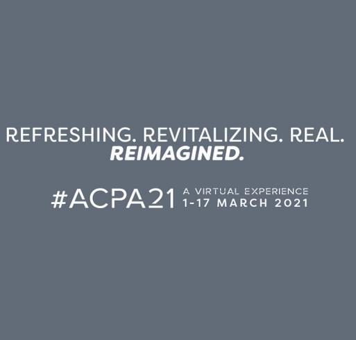 #ACPA21 Crewneck Sweatshirt shirt design - zoomed