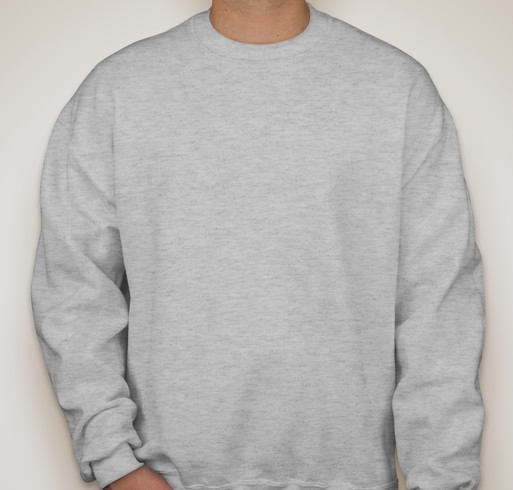 Jerzees Super Sweats® 50/50 Crewneck Sweatshirt - White