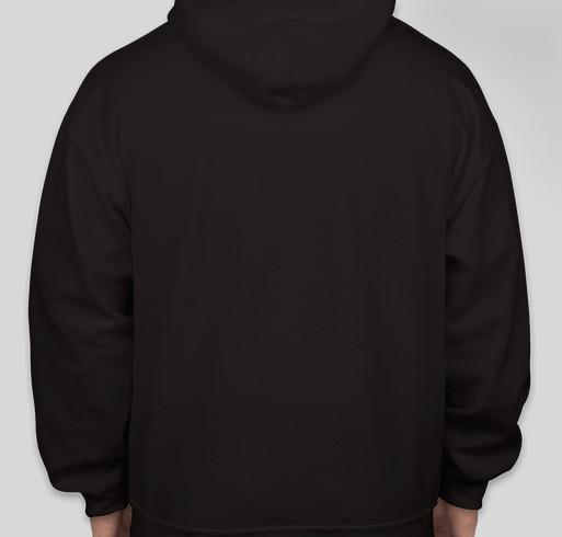 Team Heavy Hoodie Fundraiser - unisex shirt design - back
