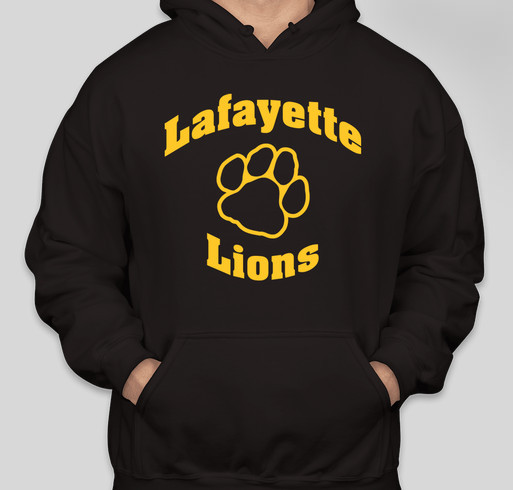 Lafayette School Spirit Wear Fundraiser - unisex shirt design - front