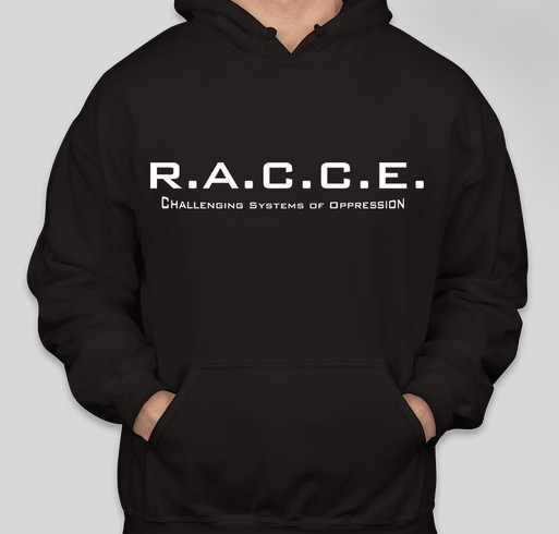 Raise Awareness with RACCE Fundraiser - unisex shirt design - front