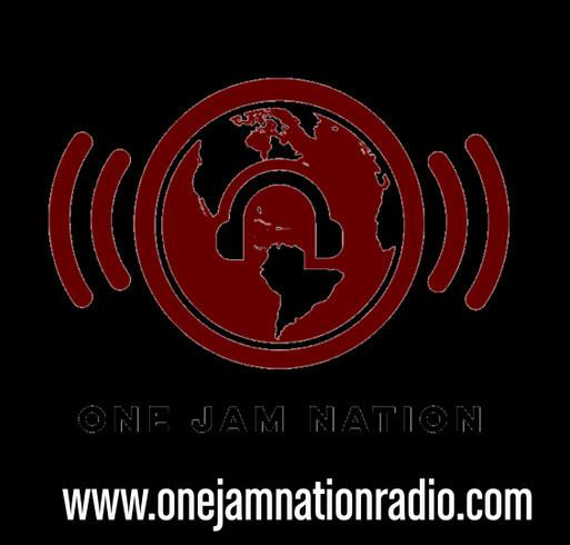 ONE JAM NATION shirt design - zoomed
