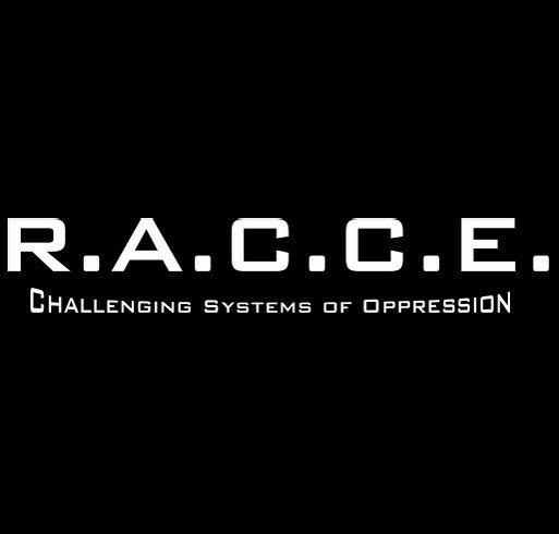 Raise Awareness with RACCE shirt design - zoomed