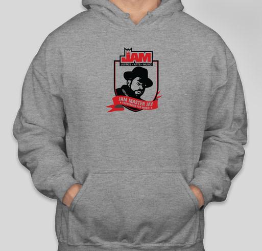 Celebrate the life of the great Jam Master Jay! Fundraiser - unisex shirt design - front