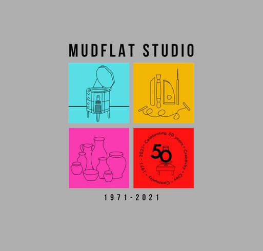 2021 Mudflat T-Shirt Fundraiser shirt design - zoomed