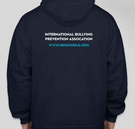 International Bullying Prevention Association: No Act of Kindness is Ever Wasted Fundraiser - unisex shirt design - back