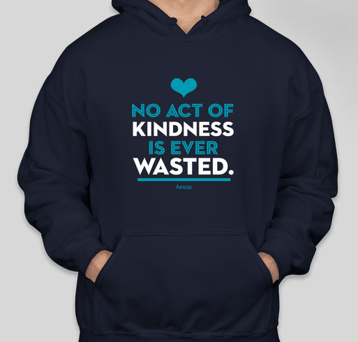 International Bullying Prevention Association: No Act of Kindness is Ever Wasted Fundraiser - unisex shirt design - front
