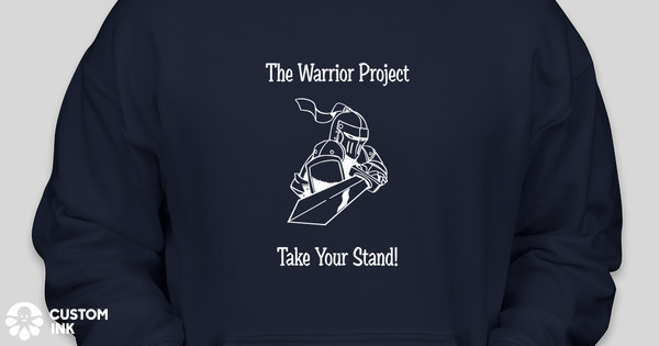 THE WARRIOR PROJECT Custom Ink Fundraising