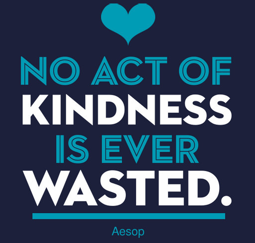 International Bullying Prevention Association: No Act of Kindness is Ever Wasted shirt design - zoomed