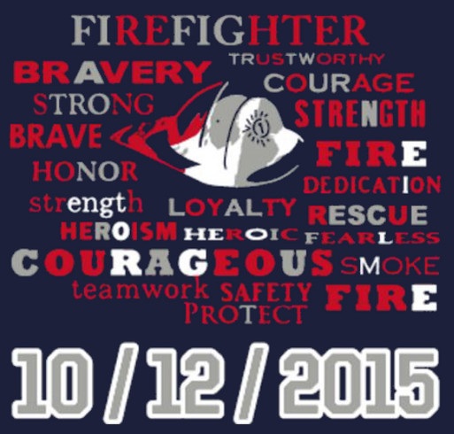 In Memory of the Fallen Kansas City Firemen shirt design - zoomed