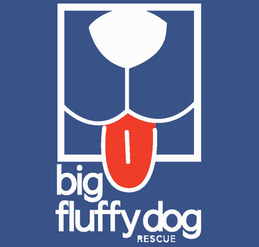 Big Fluffy Dog Rescue Logo Hoodies shirt design - zoomed