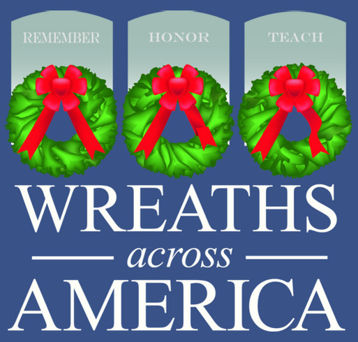 Wreaths Across America Campaign For Arlington's 150th Anniversary shirt design - zoomed