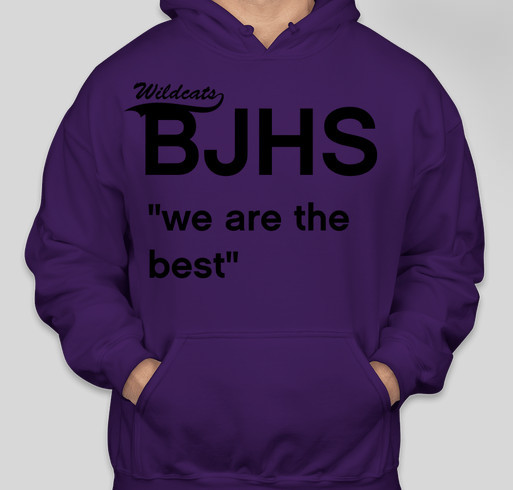 bjhs is a wonderful school and would like to go on a school trip Fundraiser - unisex shirt design - front