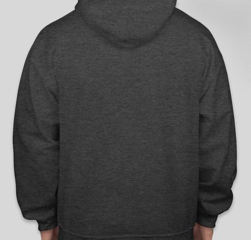 Support Camp Vatra   Hooded Sweatshirt Fundraiser - unisex shirt design - back