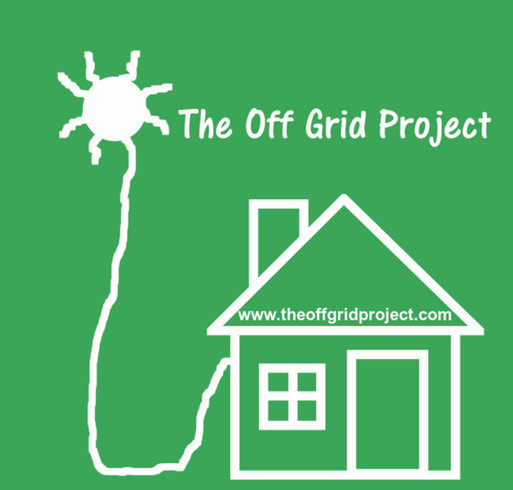 Continue The Off Grid Project And Helping People shirt design - zoomed