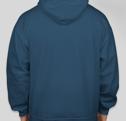 The Dog Lovers Hoodie Fundraiser - unisex shirt design - back