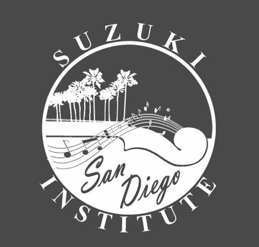 San Diego Suzuki Institute 2018 Holiday Fundraiser shirt design - zoomed