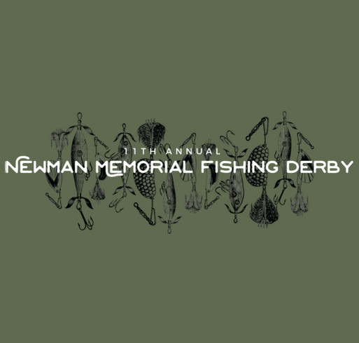 2017 Newman Memorial Fishing Derby Apparel shirt design - zoomed