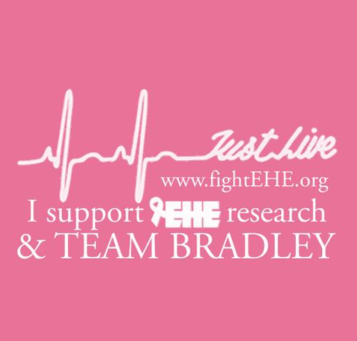 Team Bradley ~ Fight EHE shirt design - zoomed