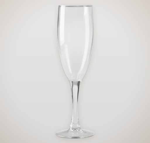 5.75 oz. Champagne Flute Glass - Selected Color