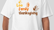 Lee Family Thanksgiving