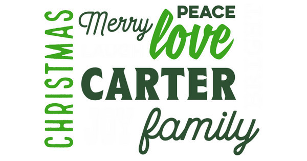 Carter Family Christmas