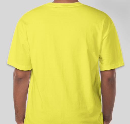Etown Fightin Jays Fundraiser - unisex shirt design - back