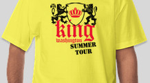 king summer tour