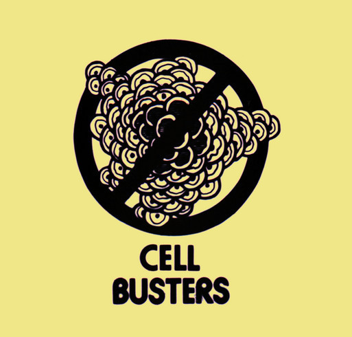 Team Cellbusters for Alex's Million Mile shirt design - zoomed
