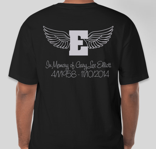 Gary Elliott Family Life Center Fundraiser Fundraiser - unisex shirt design - back