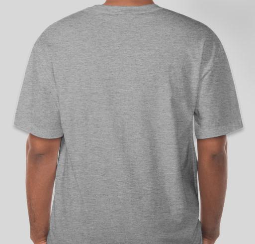 Walk Your A.S. Off 2014 - Official Booster T-Shirt Fundraiser - unisex shirt design - back
