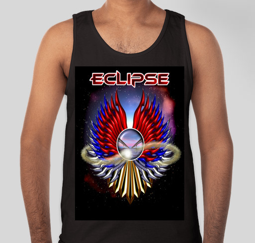 Eclipse recording fundraiser Fundraiser - unisex shirt design - front