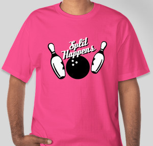9ea2ba02 Bowling T-Shirt Designs - Designs For Custom Bowling T-Shirts - Free ...