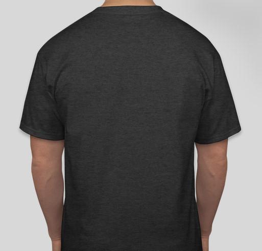 Lakota Dakota Nakota Language Summit Fundraiser Fundraiser - unisex shirt design - back