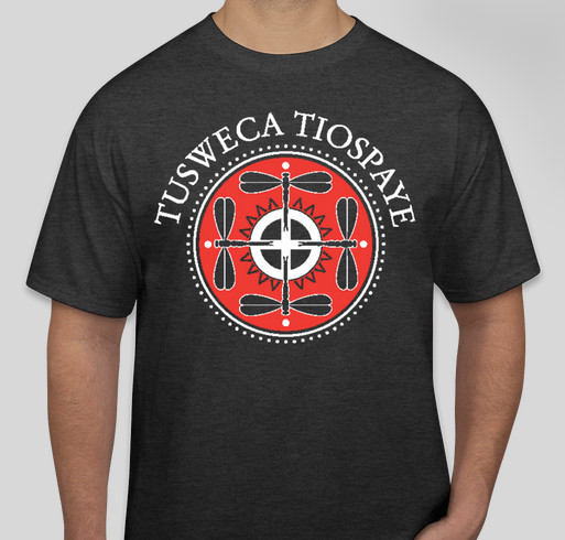 Lakota Dakota Nakota Language Summit Fundraiser Fundraiser - unisex shirt design - front