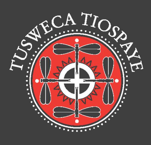 Lakota Dakota Nakota Language Summit Fundraiser shirt design - zoomed