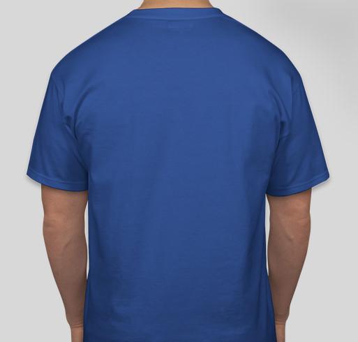 Lakota Dakota Nakota Language Summit Fundraiser - unisex shirt design - back