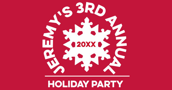 Jeremy's 3rd Annual Holiday Party