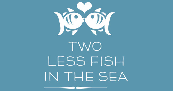 Koozie t shirt designs designs for custom koozie t for Two less fish in the sea