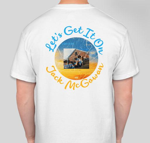 J.A.M music Fundraiser - unisex shirt design - back