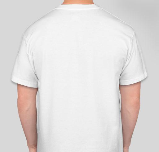 Husky Tiny Pocket shirt Fundraiser - unisex shirt design - back