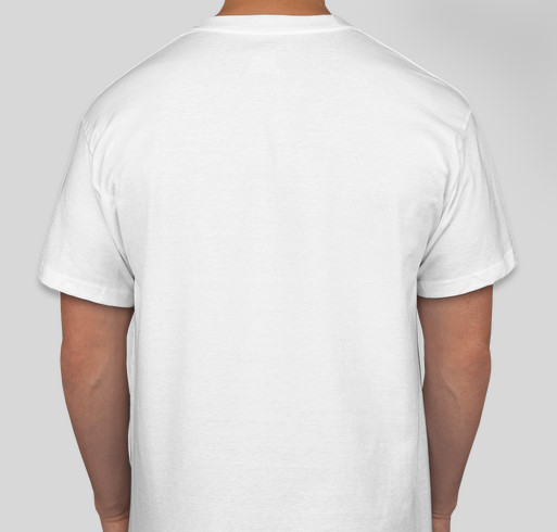 Normal is a Myth- Stop Trying to Blend In and Instead Blend Out! Fundraiser - unisex shirt design - back