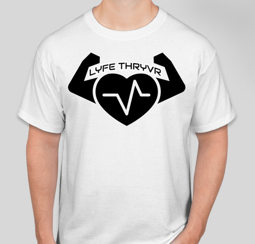 LIFE THRYVR Fundraiser - unisex shirt design - small