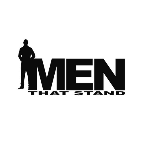 Men That Stand shirt design - zoomed
