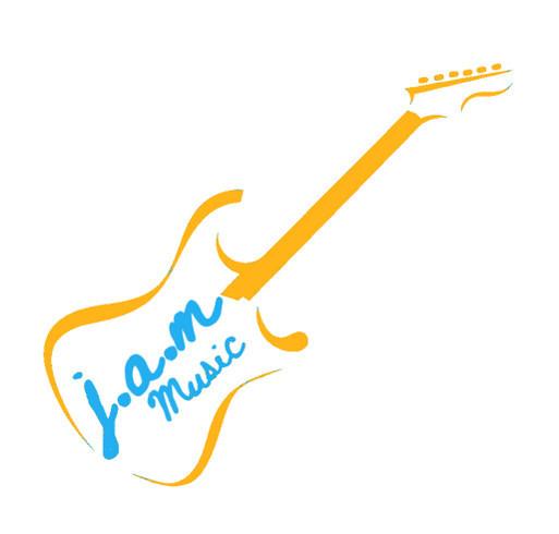 J.A.M music shirt design - zoomed