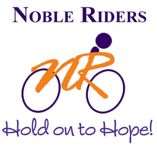 Noble Riders Bike MS 2014 shirt design - zoomed