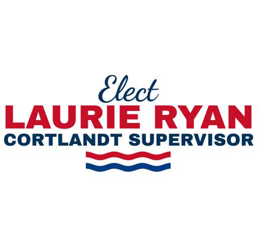 RYAN FOR CORTLANDT SUPERVISOR shirt design - zoomed