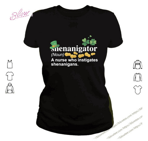 Shenanigator Irish T Hanes Tagless Tee T-Shirt