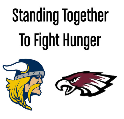 Oakland and Central Fight Hunger shirt design - zoomed