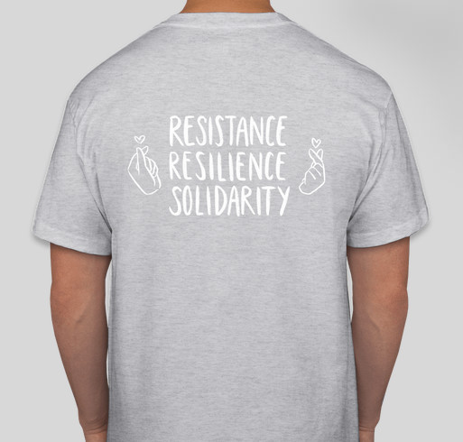 SRCD Asian Caucus Fundraiser - unisex shirt design - back